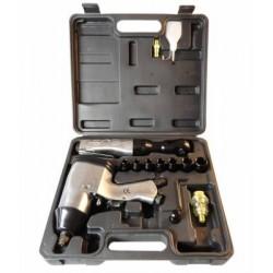 Zestaw pneumatyczny klucz udarowy z nasadkami 2+12