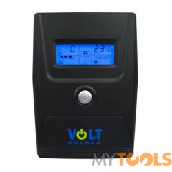 Zasilacz Awaryjny UPS Micro 600 (600VA/360W/7Ah) LCD VOLT POLSKA