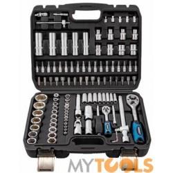 Zestaw kluczy nasadowych w walizce 108 sztuk klucze nasadowe MASTIFF