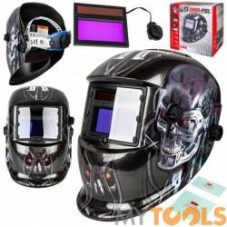 Maska spawalnicza przyłbica samościemniająca Terminator (2 filtry)