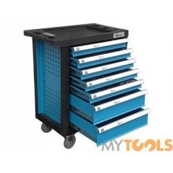 Szafka narzędziowa z wyposażeniem 272el.7 szuflad