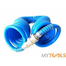 Wąż przewód pneumatyczny spiralny 15m ciśnieniowy