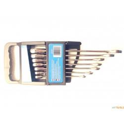 Klucze z grzechotką 7el płasko-oczkowe JOBIEXTRA 8-19mm