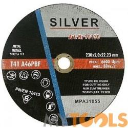 Tarcza do cięcia metalu stali 230x2.0 mm SILVER