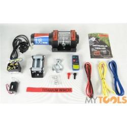 Wyciągarka elektryczna 3000 LBS ATV J8 Titanium Winch