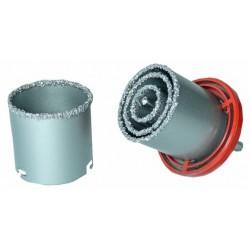 Otwornice wolframowe do glazury betonu 33-73mm 4 elementy