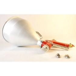 Pistolet do tynkowania i malowania 5L pneumatyczny (metal) GEKO