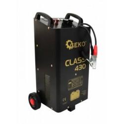 Prostownik z rozruchem CLASS 430 12/24V 360A LCD GEKO