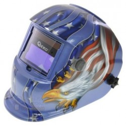 Maska spawalnicza przyłbica samościemniająca Blue (2 filtry)