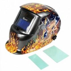 Maska spawalnicza przyłbica samościemniająca Flame (2 filtry)