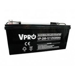 Akumulator Żelowy AGM VRLA VPRO 200Ah 12V Bateria UPS VOLT POLSKA