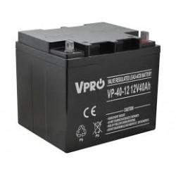 Akumulator żelowy AGM 12V 40Ah bezobsługowy